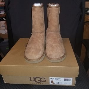 AUTHENTIC UGG CLASSIC SHORT BOOT CHESNUT